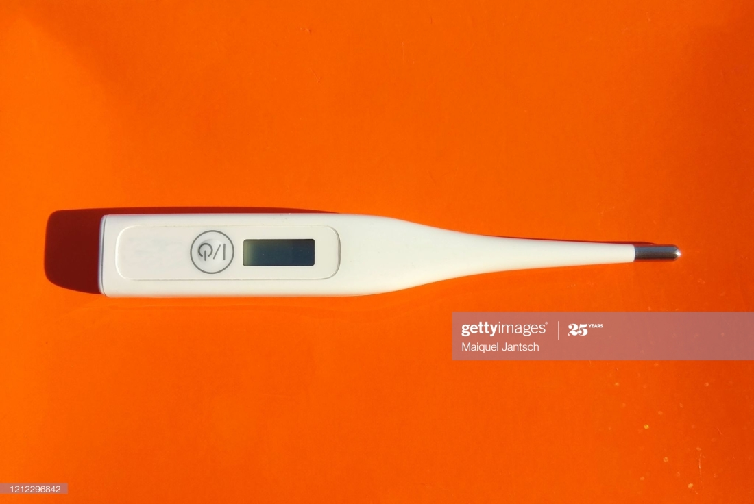 Disease thermometer virus 2019-nCoV